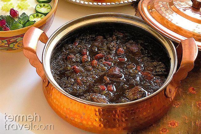 Ghormeh Sabzi, Pesrian Herb Stew