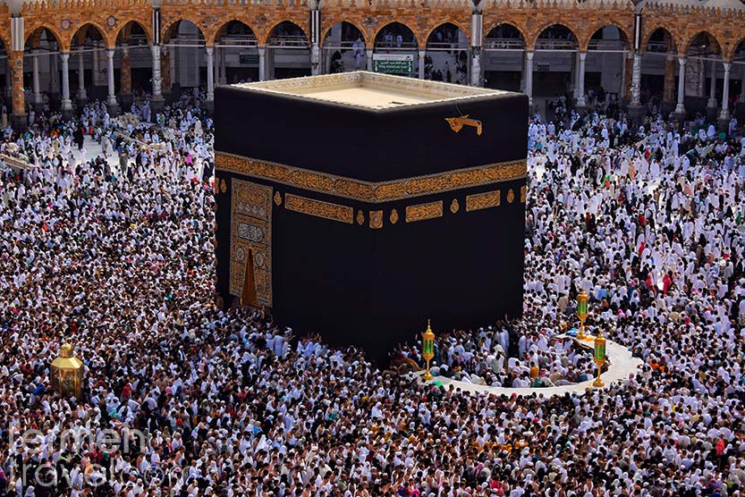 The pilgrimage of Hajj in Mecca