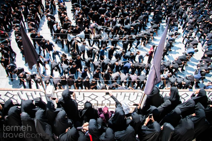 People of Bushehr Mourning the day of Ashura in their traditional way