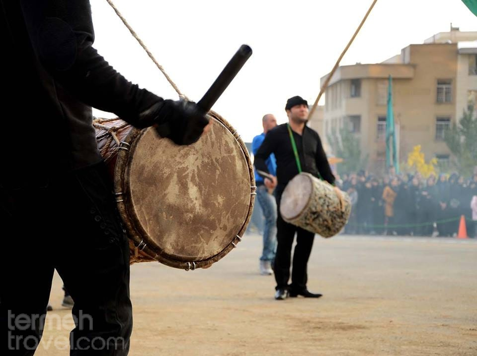 Dammam Beating in southern Iran to commemorate and mourn the day of Ashura