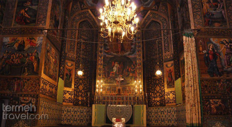 The 300 year-old Vank Cathedral in Isfahan, Iran - Termeh Travel