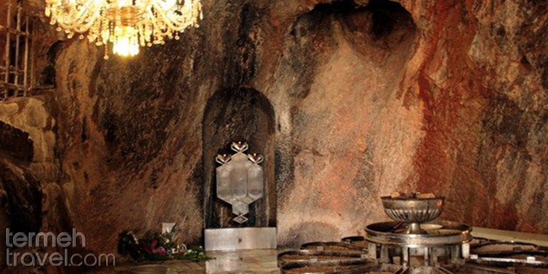Inside Chak Chak in Yazd - Termeh Travel