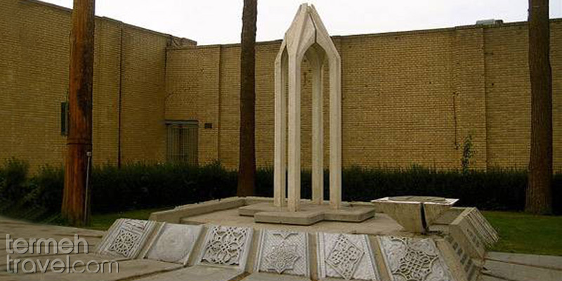 Armenians memorial monument in the yard of the Vank Cathedral in Isfahan - Termeh Travel