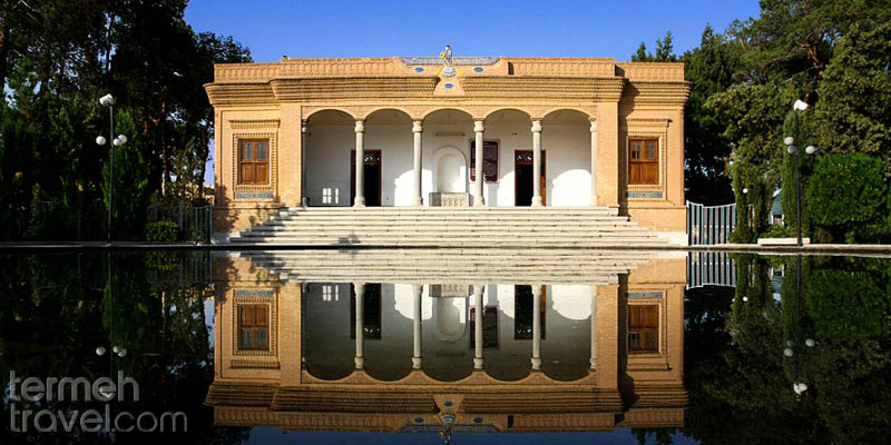 The front view of Yazd Fire temple - Termeh Travel