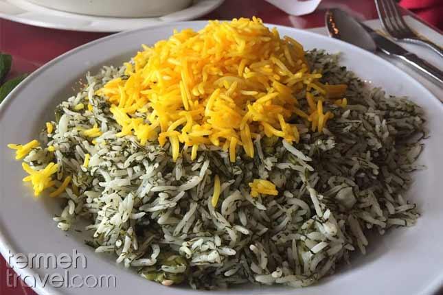 Baghali Polo-Persian Foods-Termeh Travel