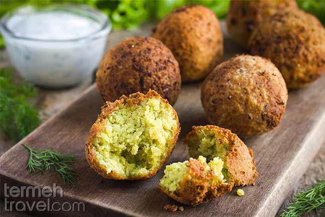 Falafel-Persian Foods-Termeh Travel