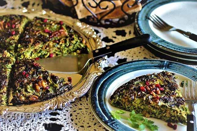 Kuku-Sabzi-Persian Foods-Termeh Travel