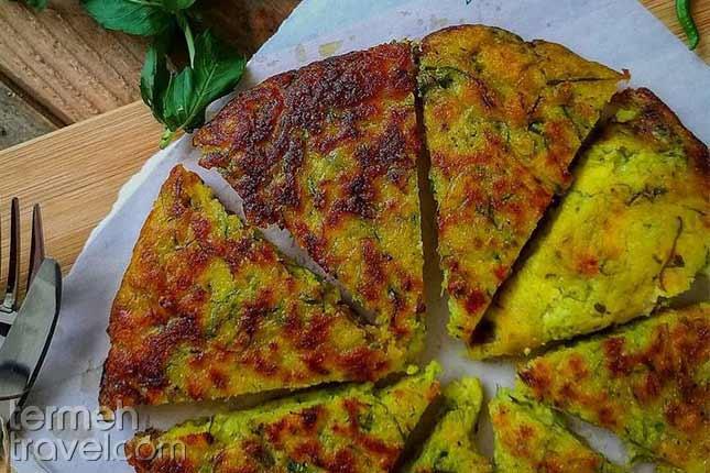 Kuku Sibzamini-Persian Foods-Termeh Travel