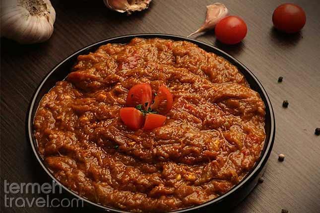 Mirza ghasemi-Persian Food-Termeh travel