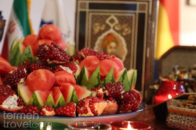 Yalda's Table- Termeh Travel
