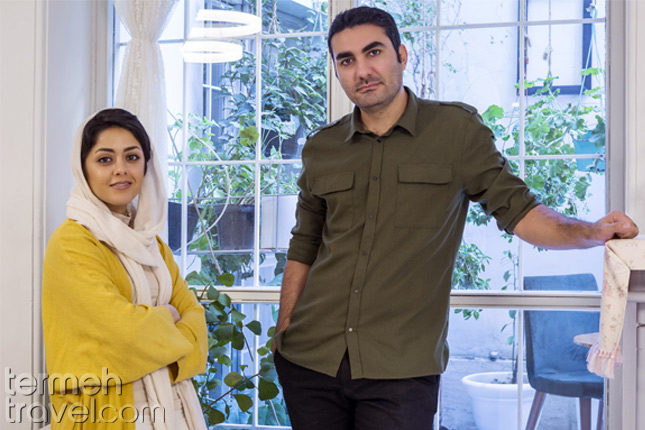 An Iranian couple following Iran's dress code-Termeh Travel