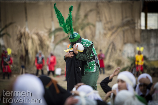 Taziyeh during Muharram in Iran- Termeh Travel
