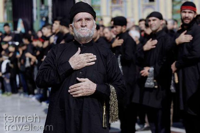 Muslims of Iran Mourn during  Muharram- Termeh Travel