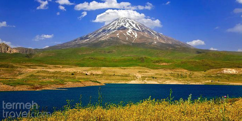Havir Lake in Damavand-Termeh Travel