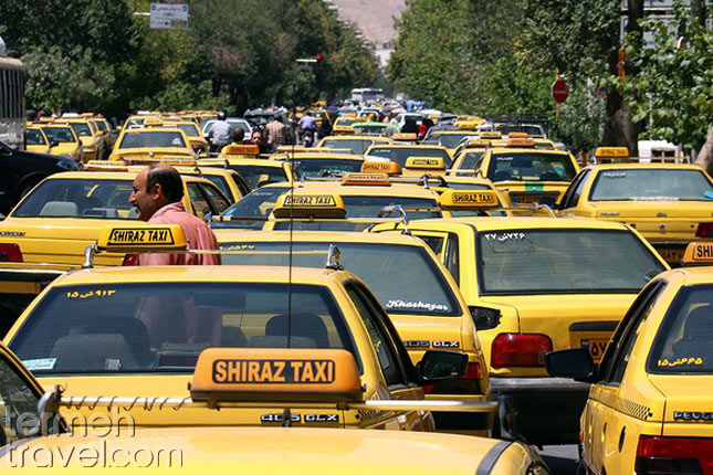 Taxis in Shiraz- Termeh Travel
