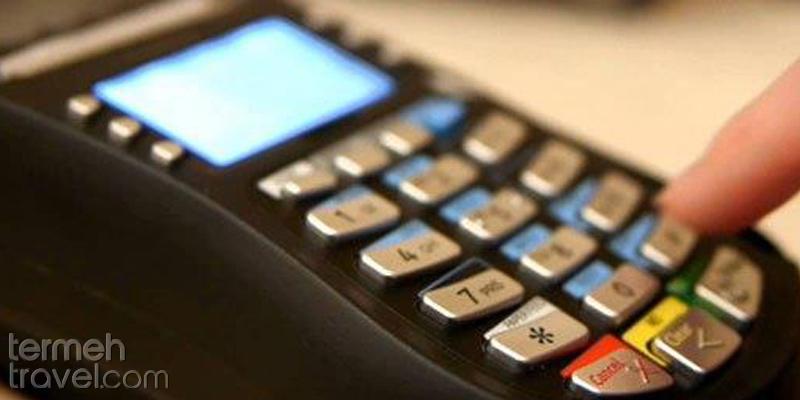 Buying sim card credit from POS machines- Termeh Travel