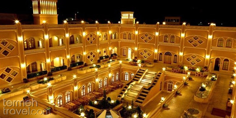 Dad Hotel of Yazd- Termeh Travel