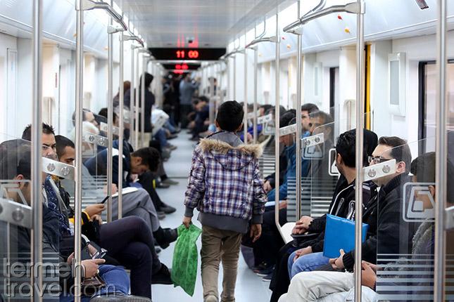 Tehran Metro- Termeh Travel