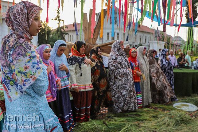 Jokol or rice harvesting ceremony in Gilan- Termeh Travel
