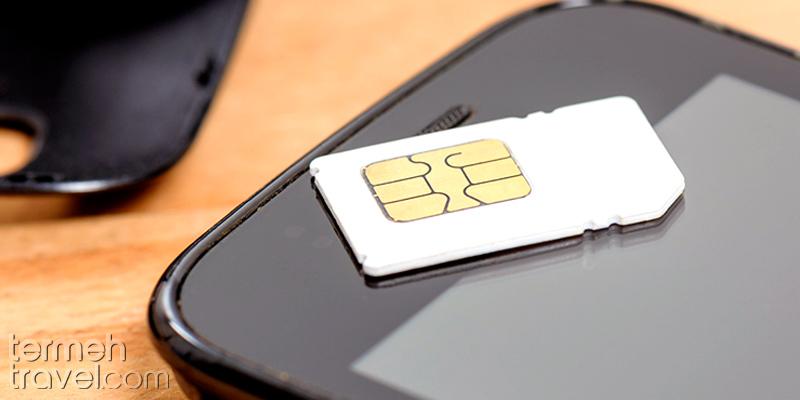 Sim card- Termeh Travel
