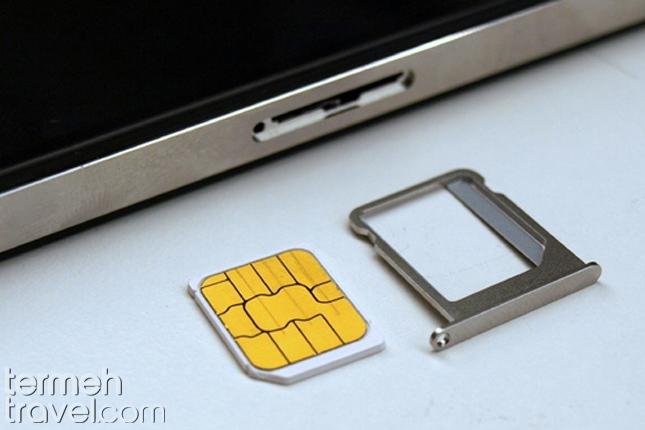 Using a sim card- Termeh Travel