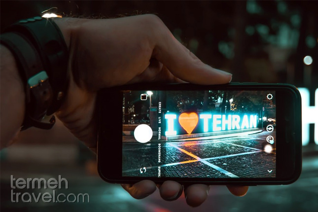 Cellphone in Iran- Termeh Travel