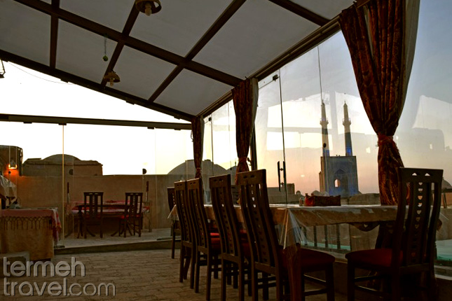 Orient Hotel of Yazd- Termeh Travel