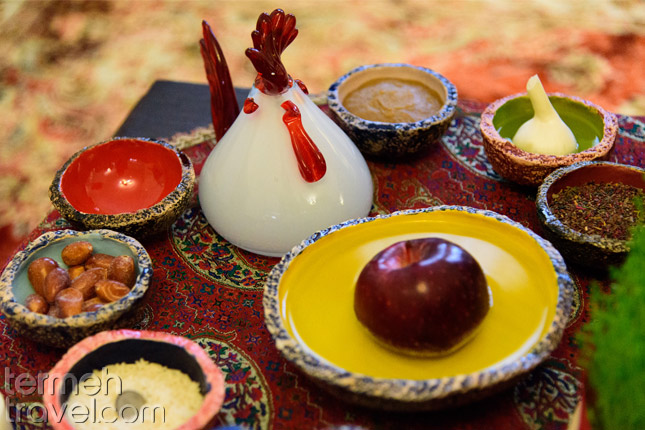 Haftseen Table of Nowruz- Termeh Travel