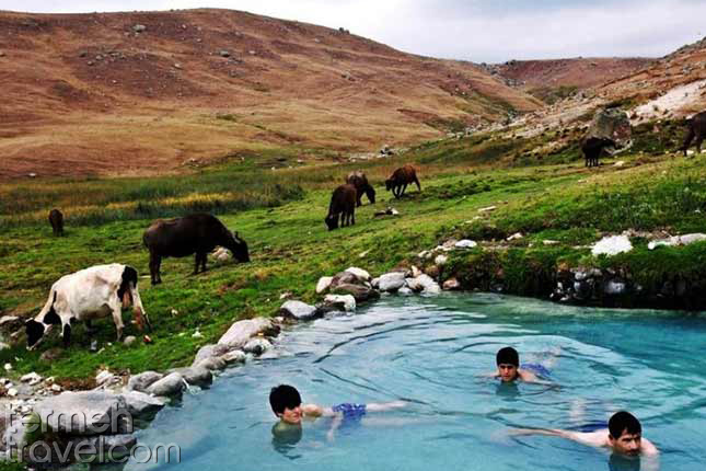 Sareyn hot water- Termeh Travel