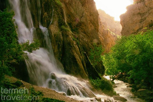 Waterfall in Lorestan- Termeh Travel