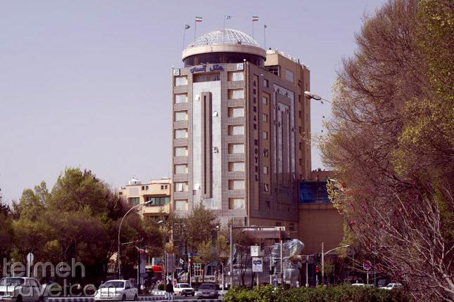 Aseman Hotel in Isfahan- Termeh Travel