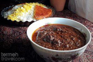 Fesenjan, Persian Walnut Stew 1