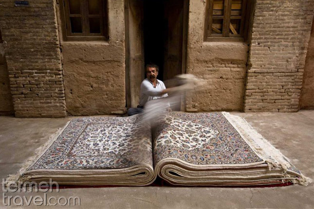 Symbolism in Persian Culture- Termeh Travel
