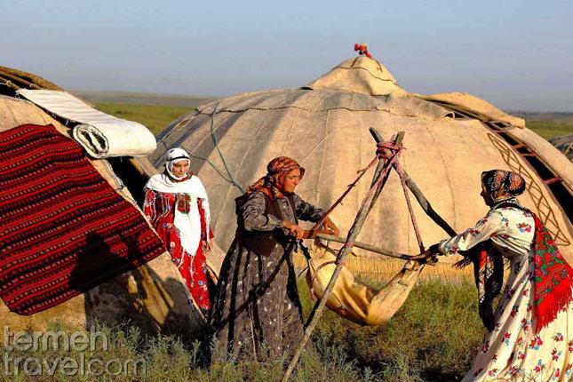 Shahsavan nomadic tribe-Nomads of Iran- Termeh Travel