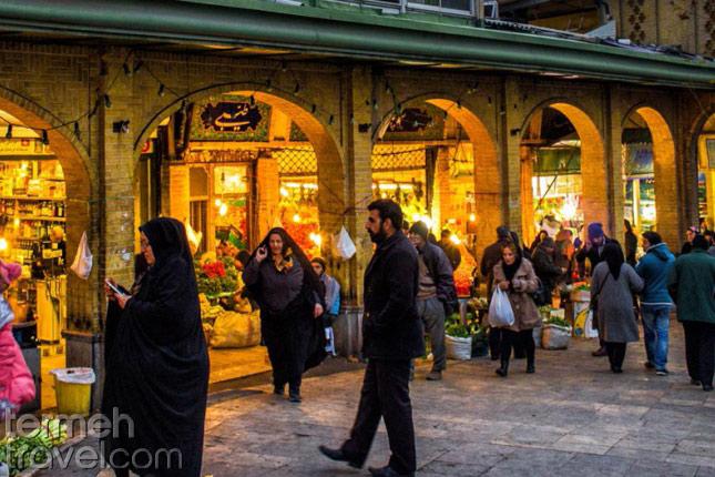 Tehran Tajrish Bazaar- Termeh Travel