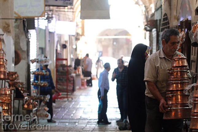 Khan Bazaar in Yazd- Termeh Travel