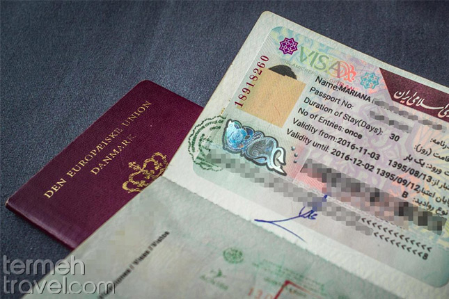 Iran Visa For Indian Citizens- Termeh Travel