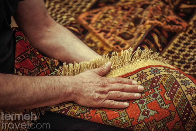 Persian Rug- Termeh Travel