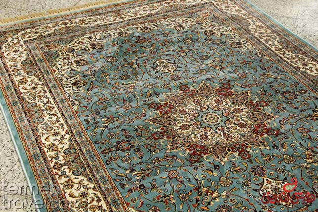 Isfahan Rug- Termeh Travel