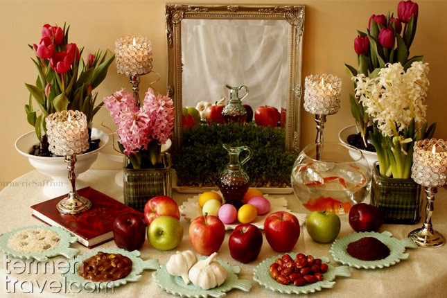 Nowruz and the Haftseen Table- Termeh Travel