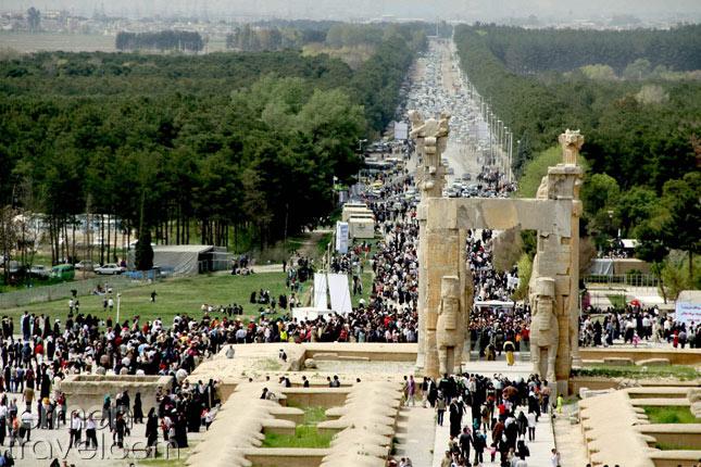 Perspolis during Nowruz- Termeh Travel