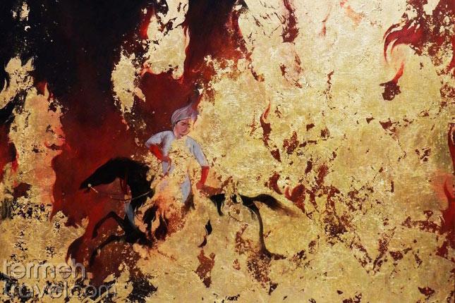 Siavash in Fire- Termeh Travel