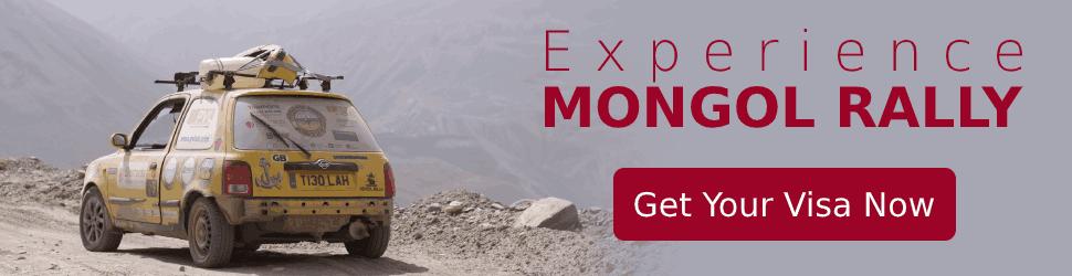 Visa For Mongol Rally - Termeh Travel