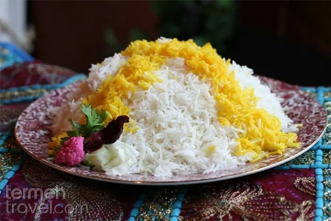 Persian Rice, Polo-Termeh Travel