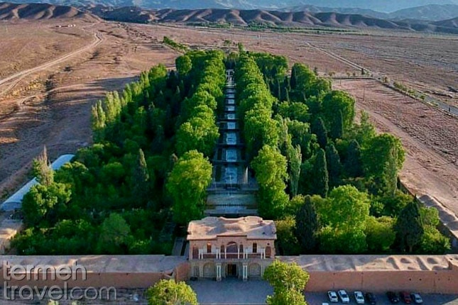 Persian Garden- Termeh Travel