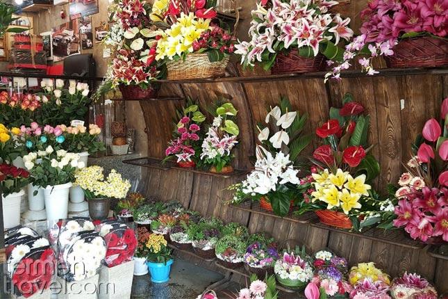 Persian flowershops- Termeh Travel