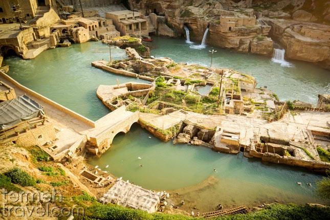 Shushtar Historical Hydraulic System- Termeh Travel