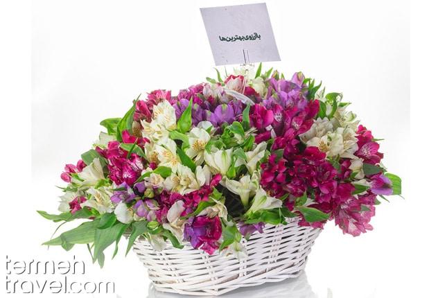 Persian flower- Termeh Travel