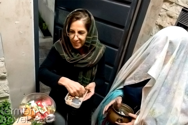 Ghaghoq Zani- Termeh Travel