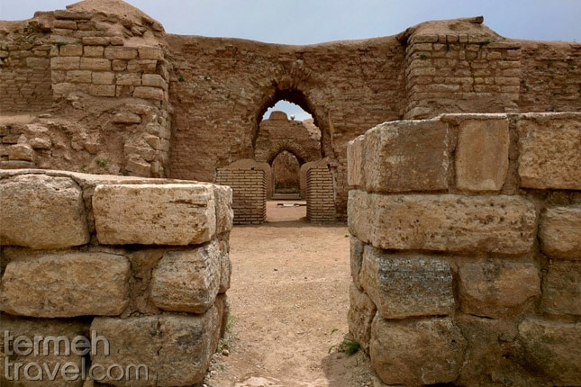 Takht-e Soleyman, the fire temple- Termeh Travel